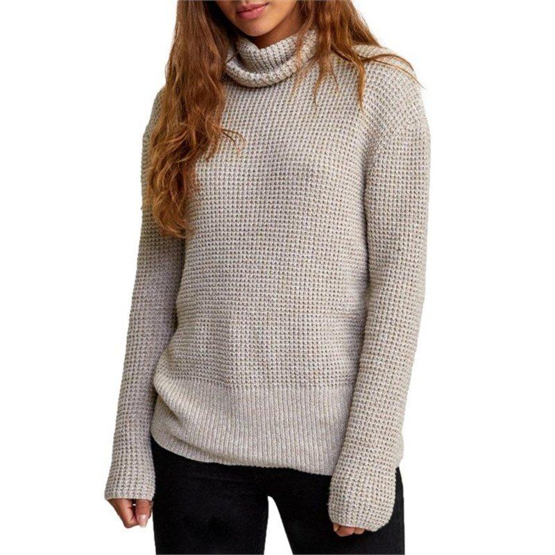 ルーカ レディース ニット・セーター アウター RVCA Roll It Sweater - Women's Oatmeal