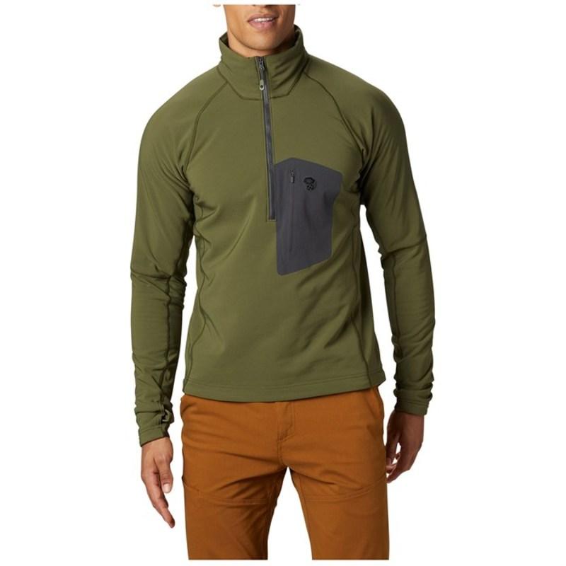 マウンテンハードウェア メンズ ジャケット・ブルゾン アウター Mountain Hardwear Keele Pullover Dark Army