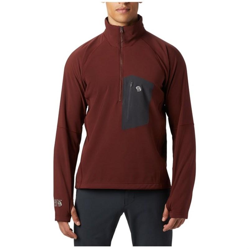 マウンテンハードウェア メンズ ジャケット・ブルゾン アウター Mountain Hardwear Keele Pullover Dark Umber
