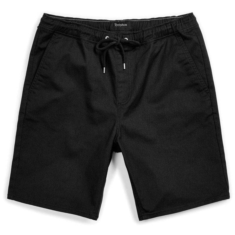 ブリクストン メンズ ハーフパンツ・ショーツ ボトムス Brixton Madrid II Hemmed Shorts Black