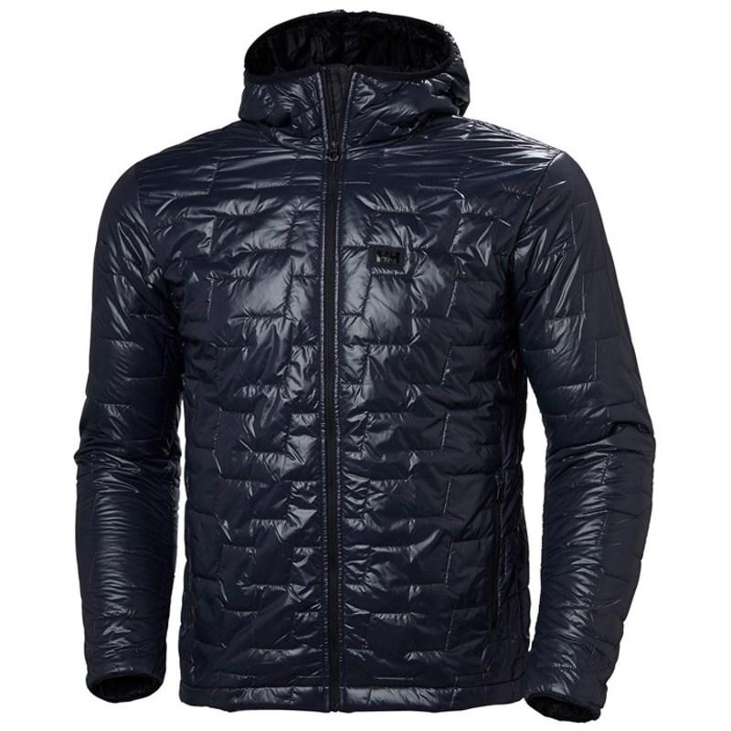 ヘリーハンセン メンズ ジャケット・ブルゾン アウター Helly Hansen LifaLoft Hooded Insulator Jacket Graphite Blue