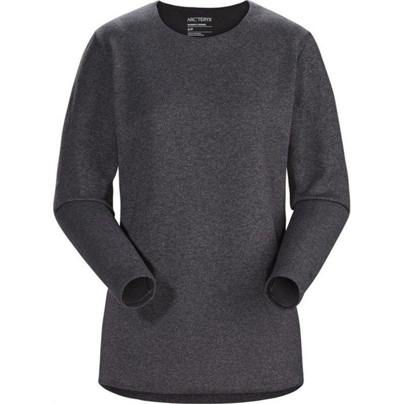 アークテリクス レディース ニット・セーター アウター Arc'teryx Laina Sweater - Women's Carbon Copy Heather