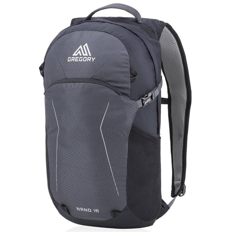 グレゴリー メンズ バックパック・リュックサック バッグ Gregory Nano 18 Backpack Eclipse Black