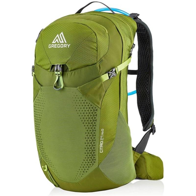 グレゴリー メンズ バックパック・リュックサック バッグ Gregory Citro 24 H2O Hydration Pack Mantis Green