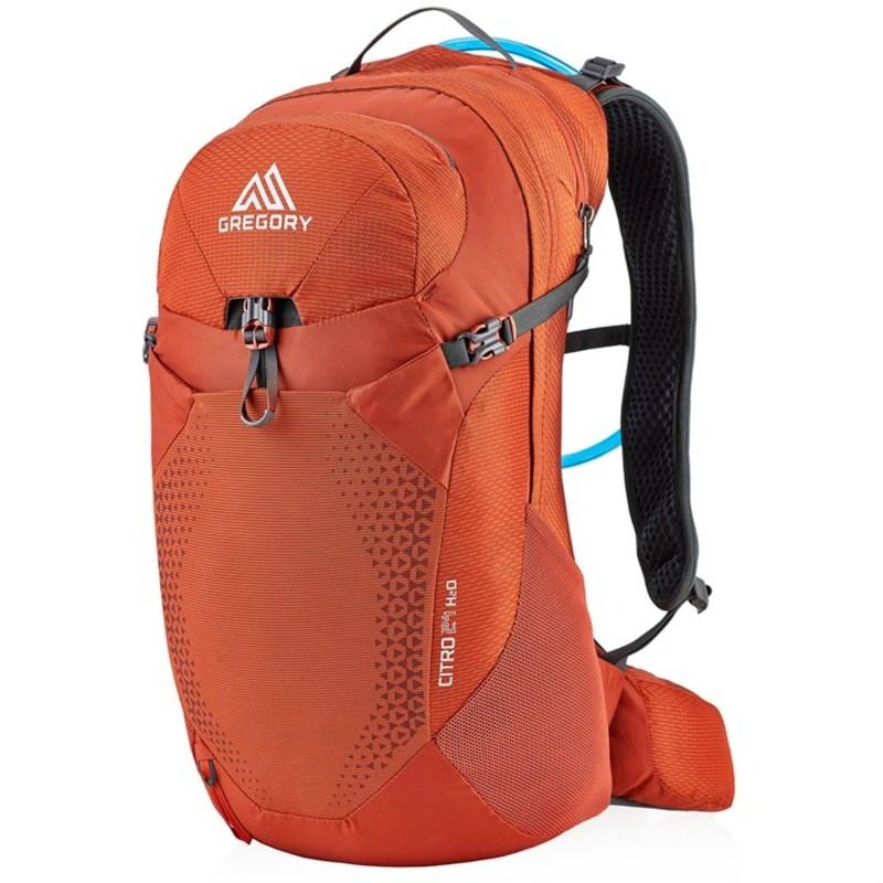 グレゴリー メンズ バックパック・リュックサック バッグ Gregory Citro 24 H2O Hydration Pack Spark Orange