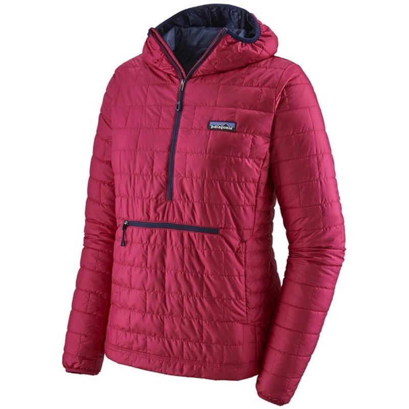 パタゴニア レディース ジャケット・ブルゾン アウター Patagonia Nano PuffR Bivy Pullover - Women's Craft Pink