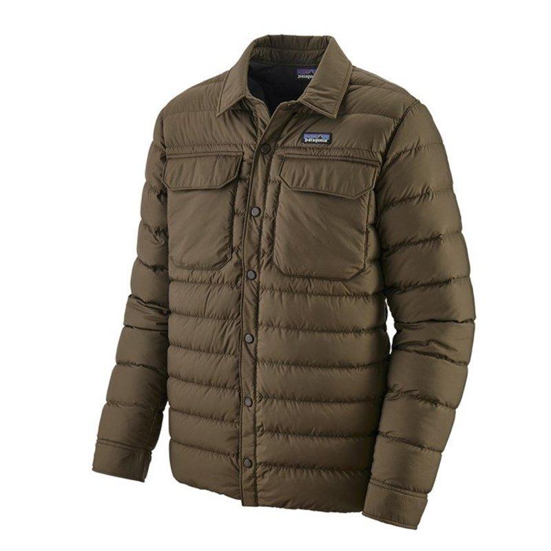 Patagonia Silent Down Shirt Jacket Logwood Brown Patagonia Jackets