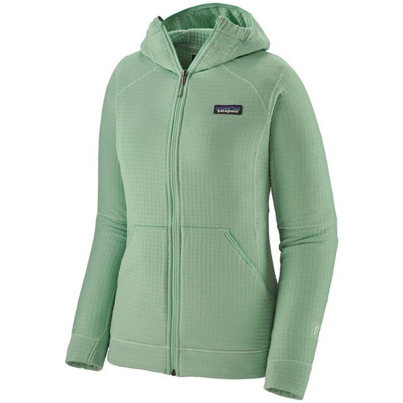 パタゴニア レディース ジャケット・ブルゾン アウター Patagonia R1R Full-Zip Hoodie - Women's Gypsum Green
