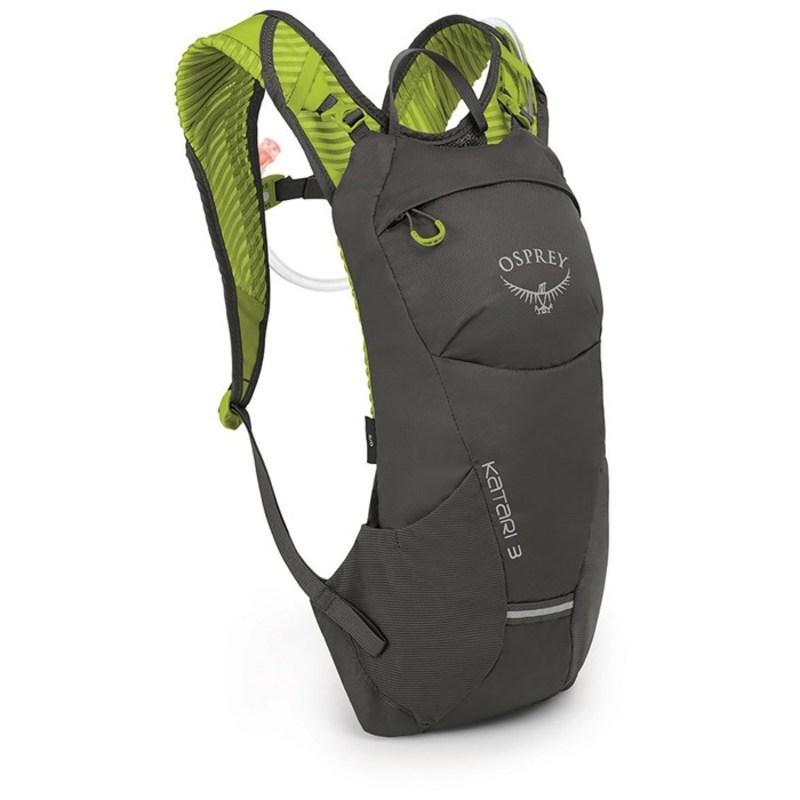 オスプレー メンズ バックパック・リュックサック バッグ Osprey Katari 3 Hydration Pack Lime Stone