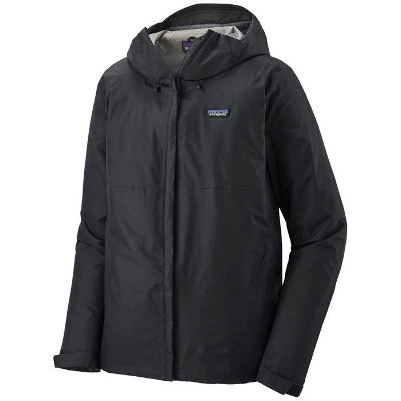 パタゴニア メンズ ジャケット・ブルゾン アウター Patagonia Torrentshell 3L Jacket Black