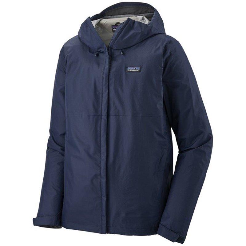 パタゴニア メンズ ジャケット・ブルゾン アウター Patagonia Torrentshell 3L Jacket Classic Navy