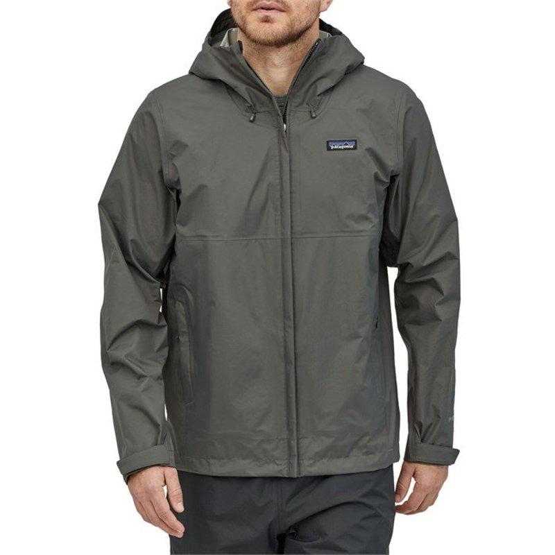 パタゴニア メンズ ジャケット・ブルゾン アウター Patagonia Torrentshell 3L Jacket Forge Grey