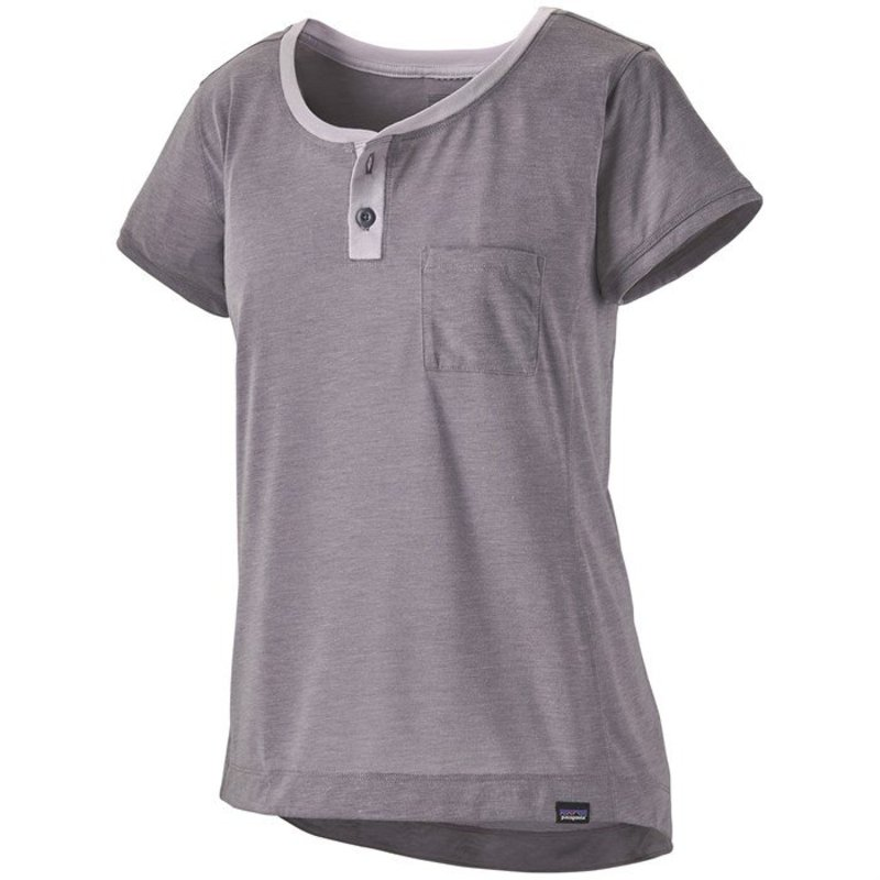 パタゴニア レディース シャツ トップス Patagonia CapileneR Cool Trail Bike Henley - Women's Smokey Violet