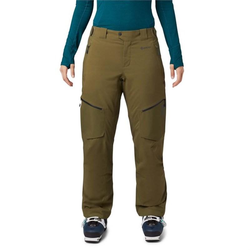マウンテンハードウェア レディース カジュアルパンツ ボトムス Mountain Hardwear Boundary Line GORE-TEX Insulated Tall Pants - Women's Combat Green