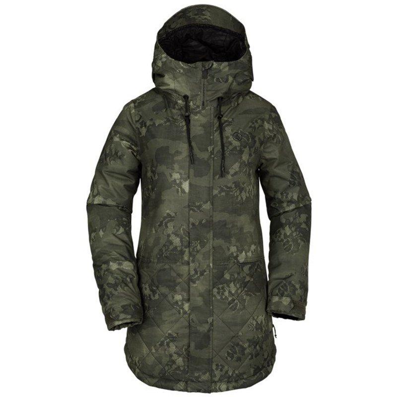 ボルコム レディース ジャケット・ブルゾン アウター Volcom Winrose Insulated Jacket - Women's Camouflage