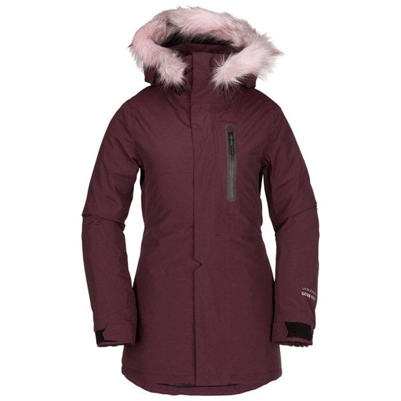 ボルコム レディース ジャケット・ブルゾン アウター Volcom Eva Insulated GORE-TEX Jacket - Women's Merlot