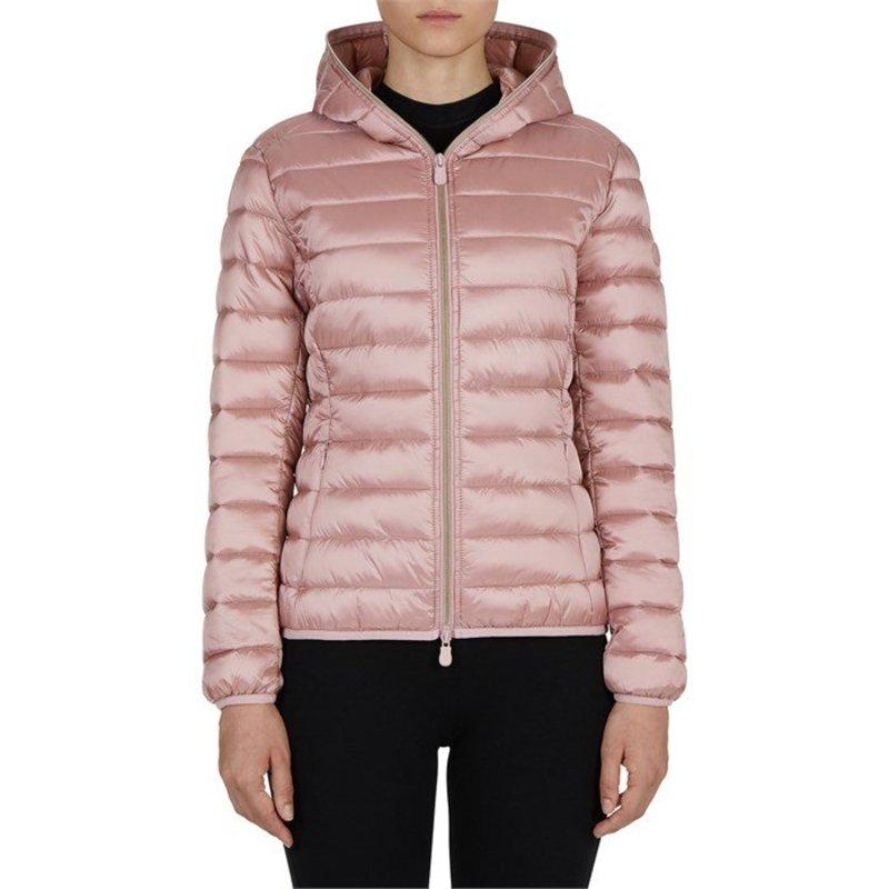 セイブ ザ ダック レディース ジャケット・ブルゾン アウター Save the Duck Giga Short Hood Jacket - Women's Blush Pink