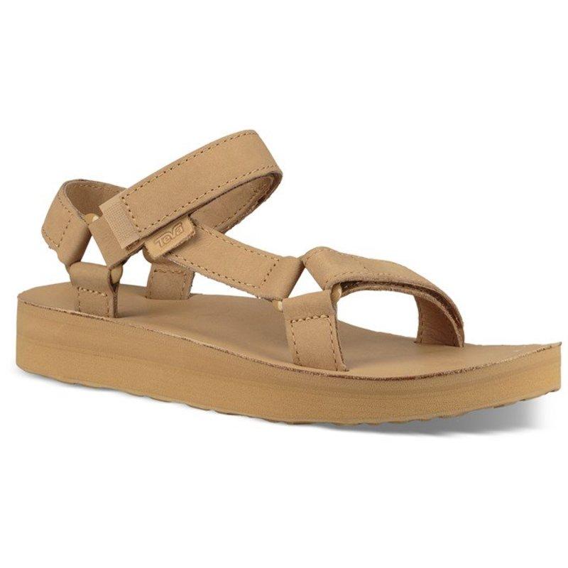 テバ レディース サンダル シューズ Teva Midform Universal Leather Sandals - Women's Desert Sand