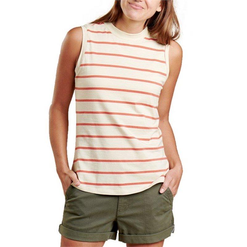 トードアンドコー レディース タンクトップ トップス Toad & Co Samba Sunday Tank Top - Women's Desert Wide Stripe