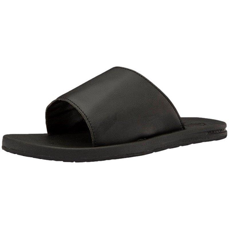 - E-Cliner ボルコム Slide レディース Volcom Blackout Sandals シューズ サンダル Women's