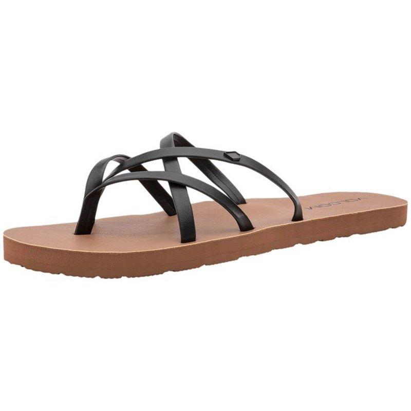 ボルコム レディース サンダル シューズ Volcom New School II Sandals - Women's Black