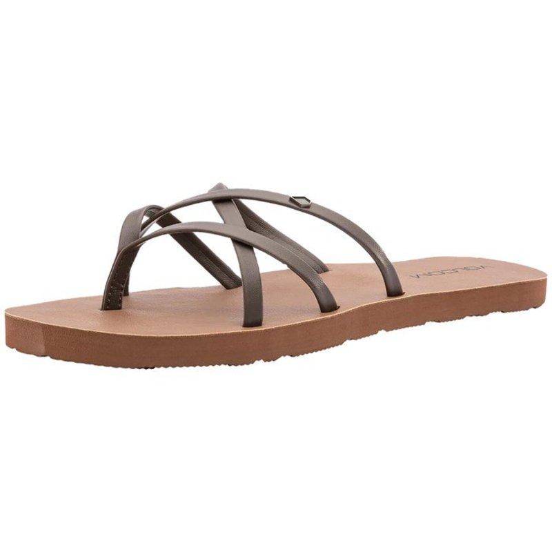 ボルコム レディース サンダル シューズ Volcom New School II Sandals - Women's Brown