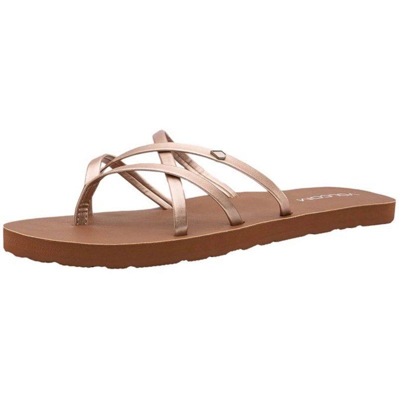 ボルコム レディース サンダル シューズ Volcom New School II Sandals - Women's Rose Gold