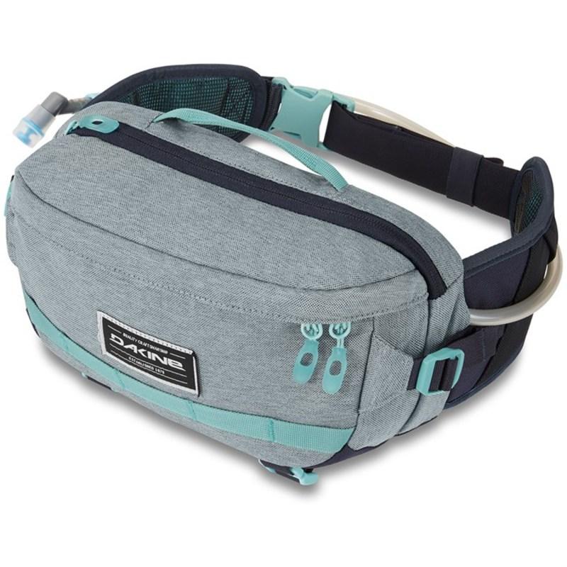 ダカイン メンズ ボディバッグ・ウエストポーチ バッグ Dakine Hot Laps 5L Waist Bag Lead Blue