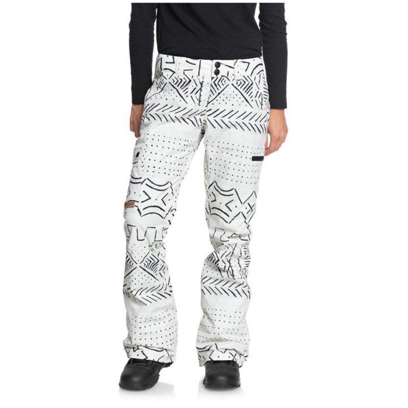 ディーシー レディース カジュアルパンツ ボトムス DC Recruit Pants - Women's Silver Burch Mud Cloth A