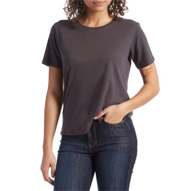 モラスク レディース Tシャツ トップス Mollusk Hemp Tomboy T-Shirt - Women's Navy