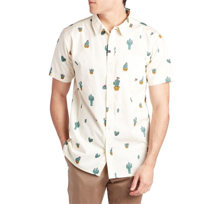 インペリアルモーション メンズ シャツ トップス Imperial Motion Prick Short-Sleeve Shirt Antique White