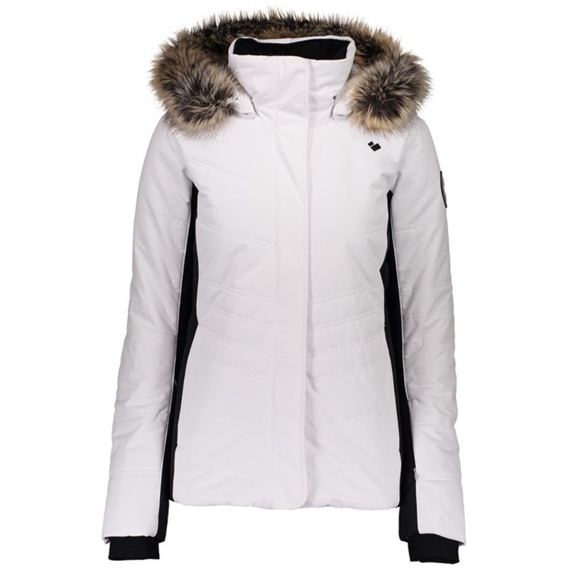 オバマイヤー レディース ジャケット・ブルゾン アウター Obermeyer Tuscany II Jacket - Women's White