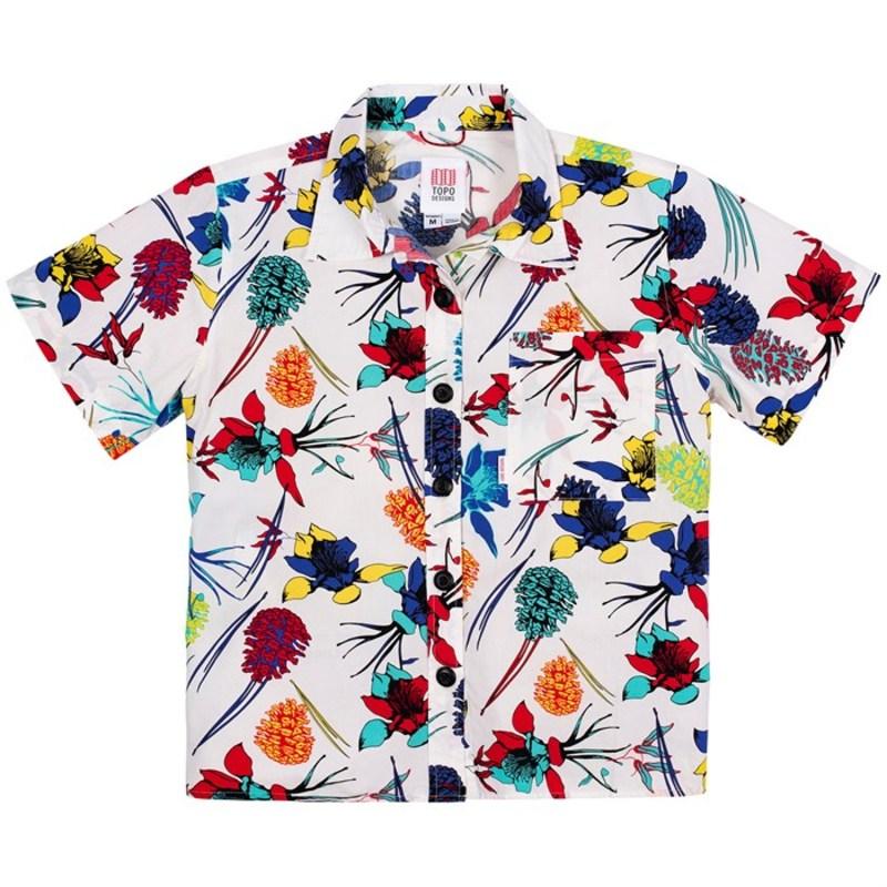 トポ・デザイン レディース シャツ トップス Topo Designs Tour Shirt - Women's Natural Floral