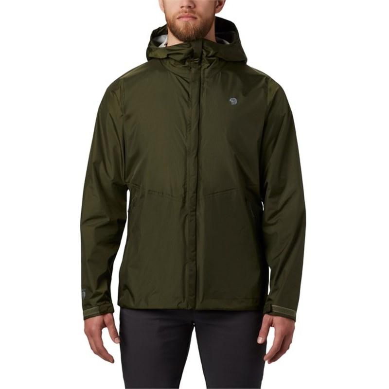 マウンテンハードウェア メンズ ジャケット・ブルゾン アウター Mountain Hardwear Acadia Jacket Dark Army