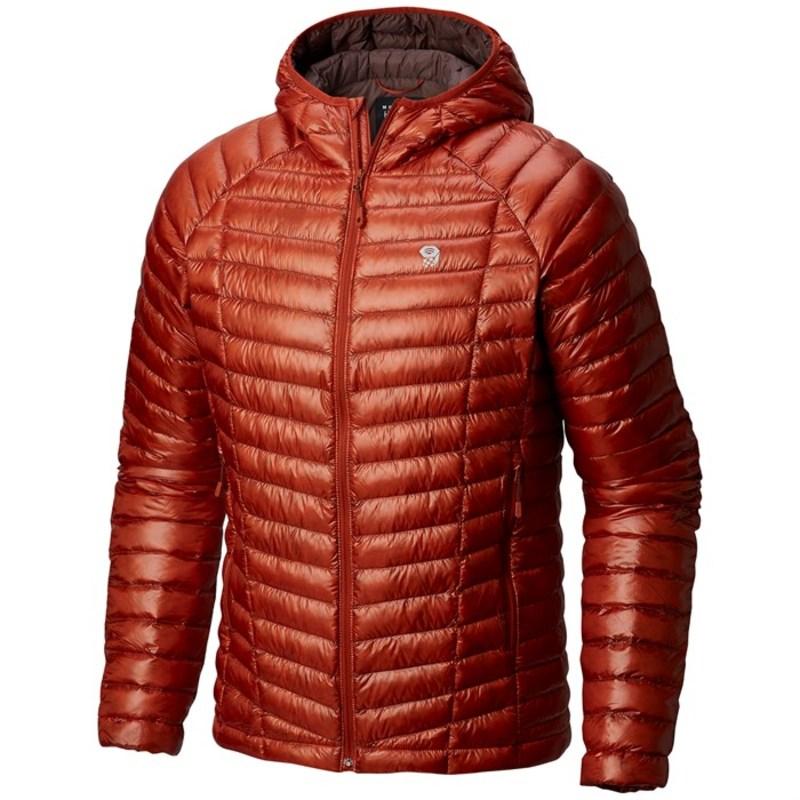 マウンテンハードウェア メンズ ジャケット・ブルゾン アウター Mountain Hardwear Ghost Whisperer Hooded Down Jacket Dark Copper