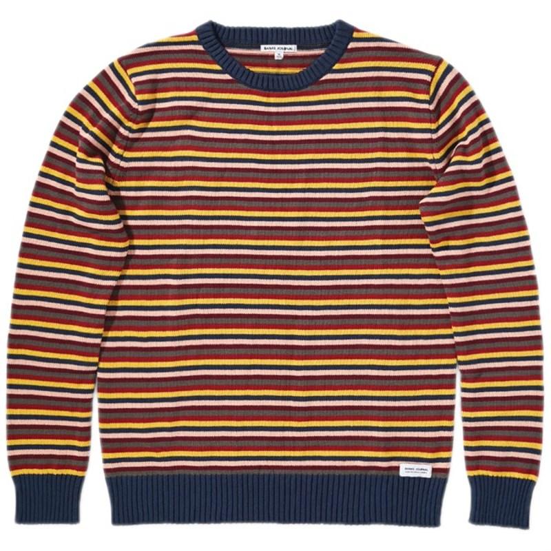 バンクス メンズ ニット・セーター アウター Banks Silence Knit Sweater Insignia Blue