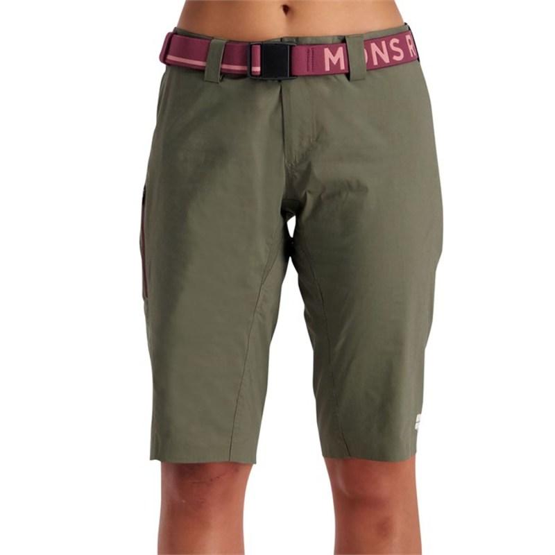 モンスロイヤル レディース ハーフパンツ・ショーツ ボトムス MONS ROYALE Virage Shorts - Women's Olive