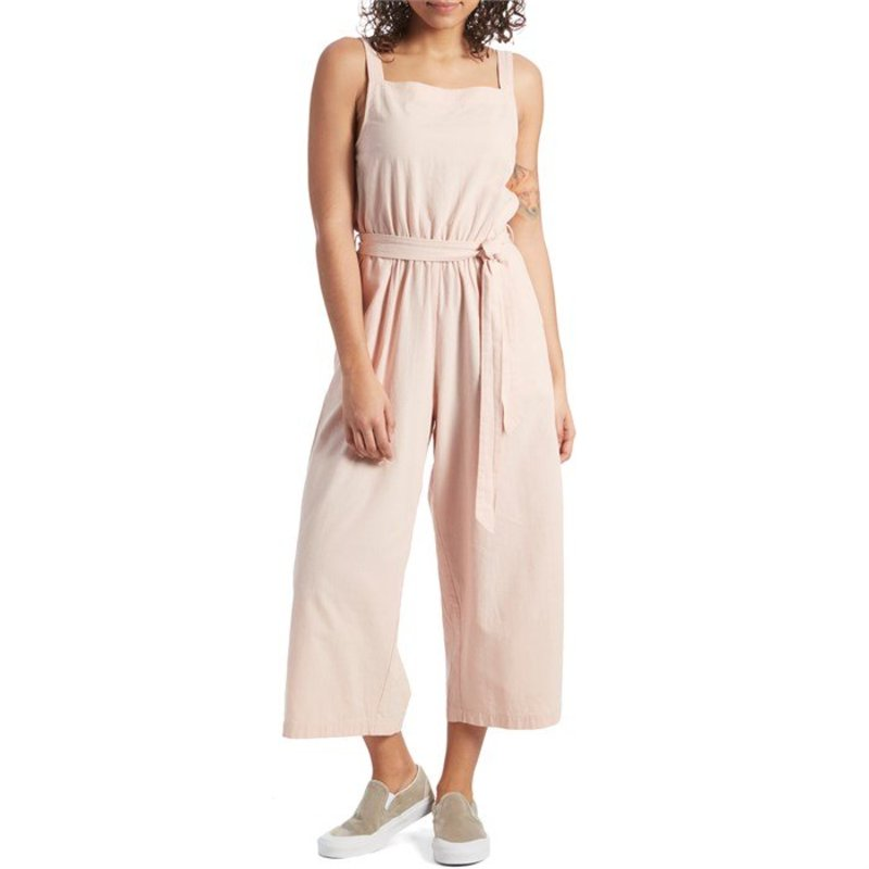 モラスク レディース カジュアルパンツ ボトムス Mollusk Canyon Jumpsuit - Women's Pale Pink
