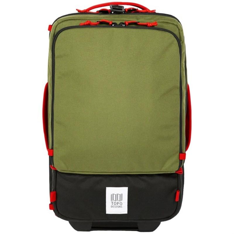 トポ・デザイン メンズ スーツケース バッグ Topo Designs Travel 35L Roller Bag Olive