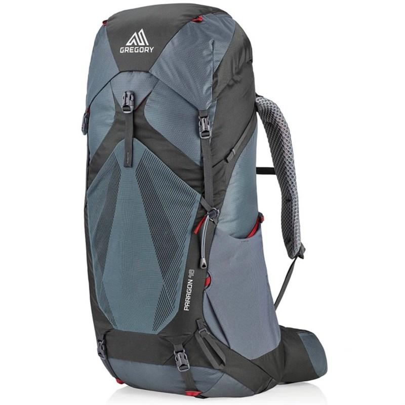 グレゴリー メンズ バックパック・リュックサック バッグ Gregory Paragon 48 Backpack Smoke Grey