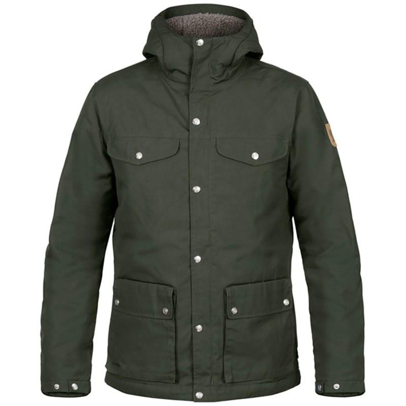 フェールラーベン メンズ ジャケット・ブルゾン アウター Greenland Winter Insulated Jacket Deep Forest