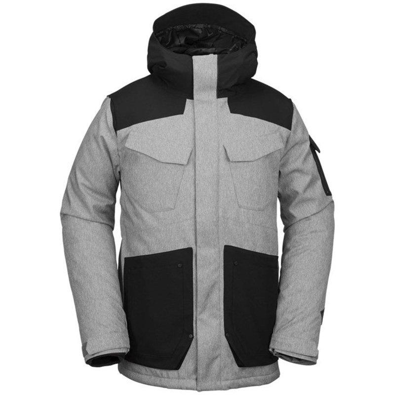 ボルコム メンズ ジャケット・ブルゾン アウター Volcom VCO Inferno Jacket Heather Grey
