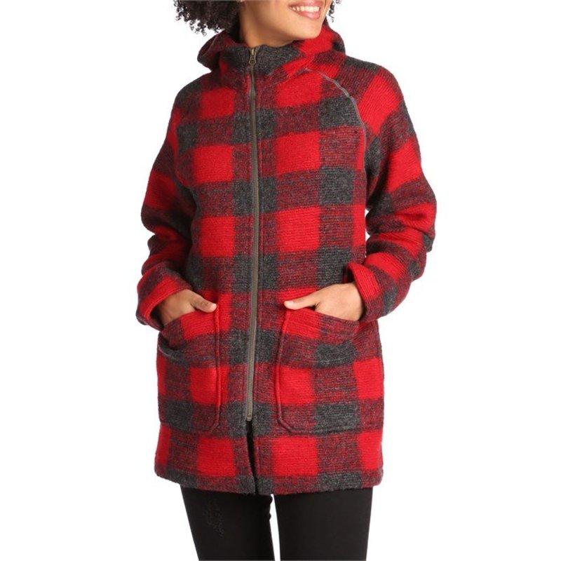 ウール リッチ レディース ジャケット・ブルゾン アウター Woolrich Chilly Days Hooded Jacket - Women's Red Heather
