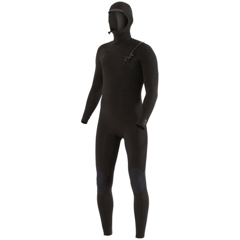 ヴィスラ メンズ 上下セット 水着 Vissla 7 Seas 5/4/3 Chest Zip Hooded Wetsuit Stealth