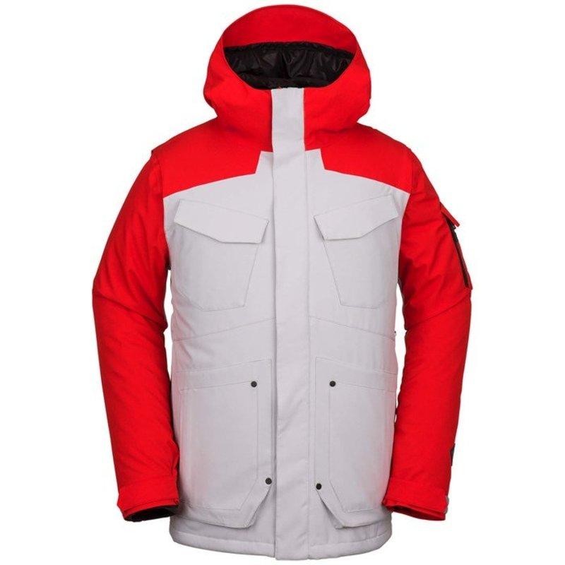 ボルコム メンズ ジャケット・ブルゾン アウター Volcom VCO Inferno Jacket Slate Grey