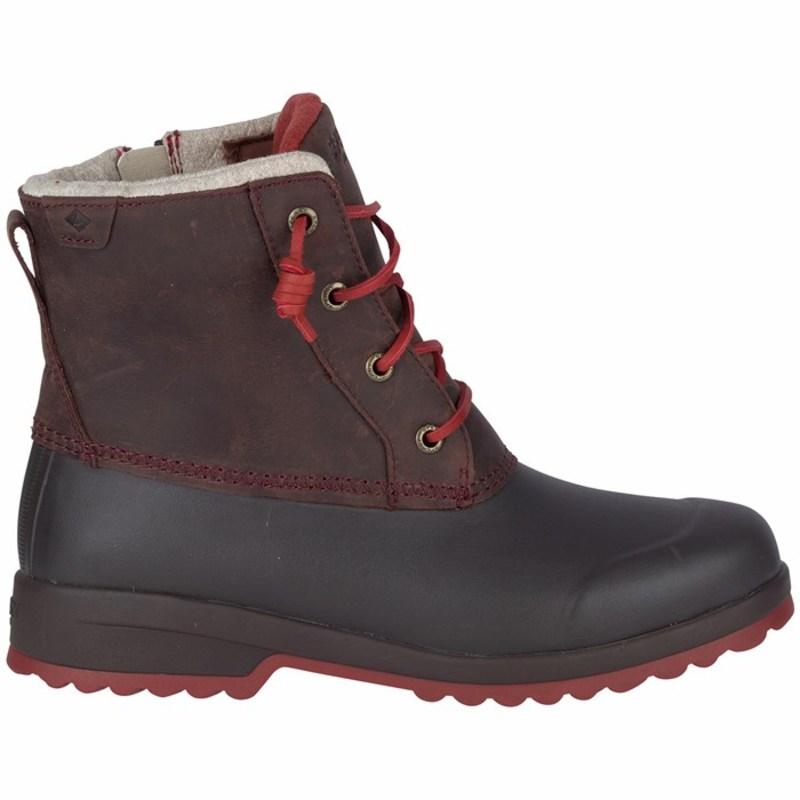 トップサイダー レディース ブーツ・レインブーツ シューズ Sperry Top-Sider Maritime Repel Boots - Women's Black