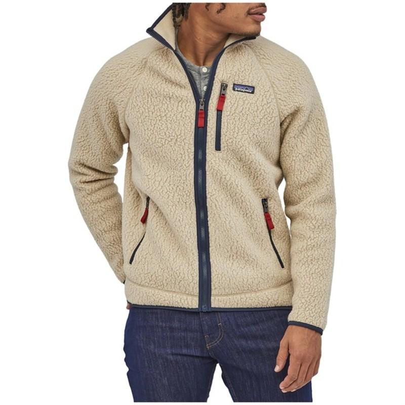 パタゴニア メンズ ジャケット・ブルゾン アウター Patagonia Retro Pile Fleece Jacket El Cap Khaki