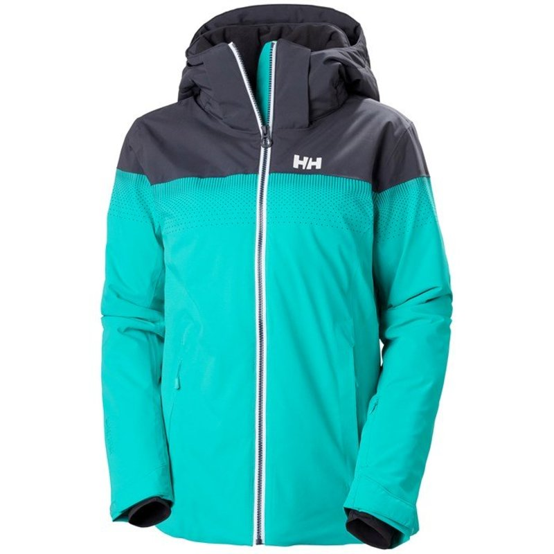 ヘリーハンセン レディース ジャケット・ブルゾン アウター Helly Hansen Motionista LifaLoft Jacket - Women's Turquoise