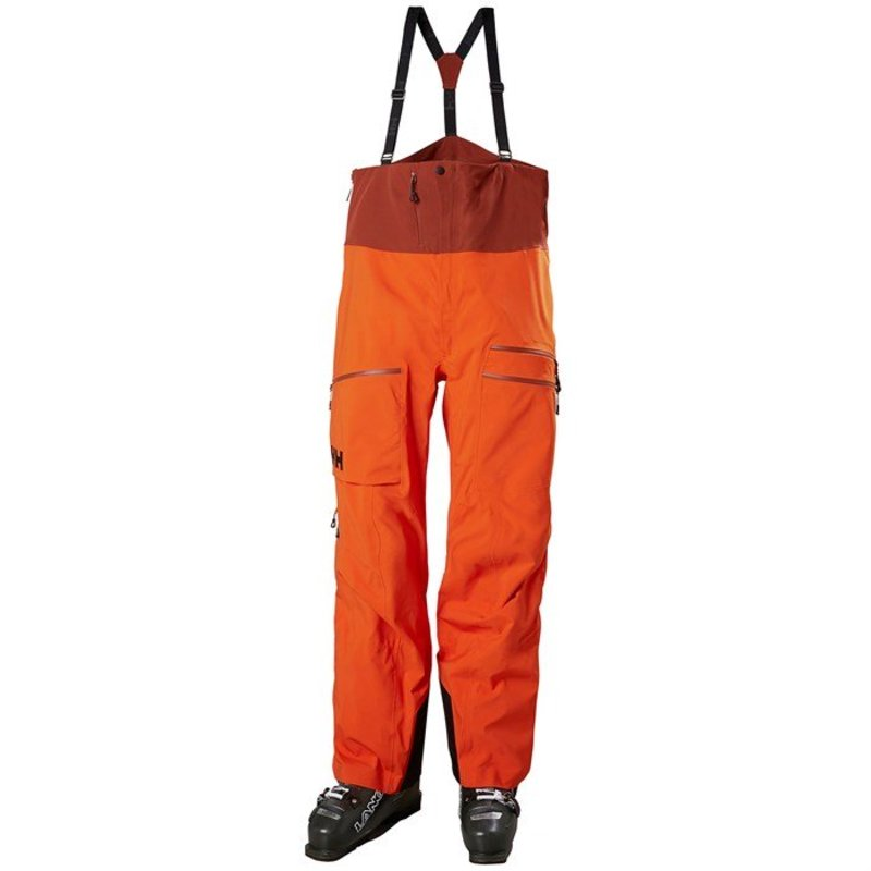 ヘリーハンセン メンズ カジュアルパンツ ボトムス Helly Hansen Odin Mountain 3L Shell Bib Pants Patrol Orange
