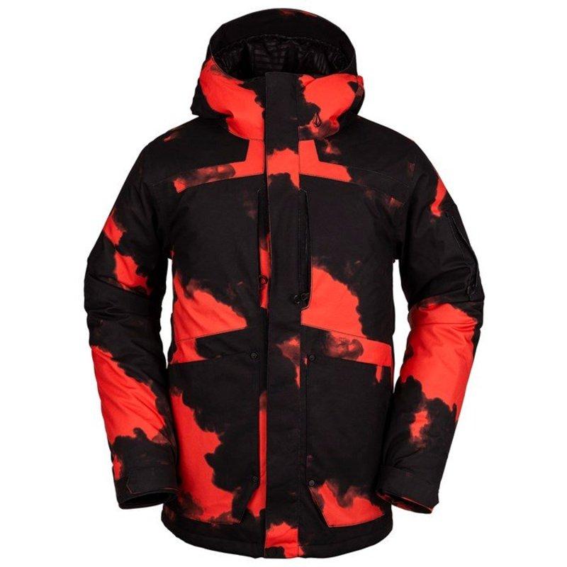 ボルコム メンズ ジャケット・ブルゾン アウター Volcom Scortch Insulated Jacket Magma Smoke